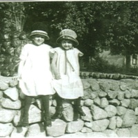 Florence and Margaret Jordan (author's sisters)