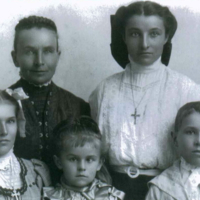 Portrait of Herman family