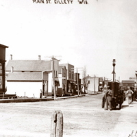 Citizens Bank Main St Gillett. Looking West. CA 1912.jpg